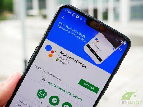 """Google Assistant si aggiorna e """"perde"""" l'icona della tastier"""