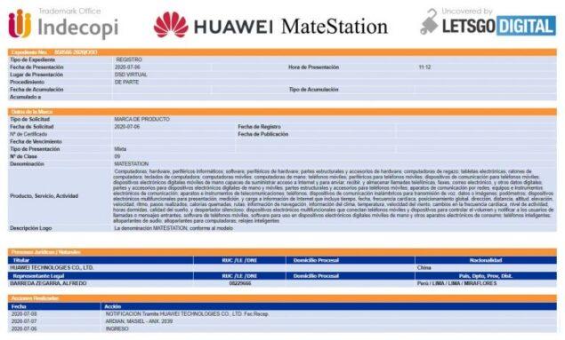 huawei matestation harmony os 2.0 data lancio