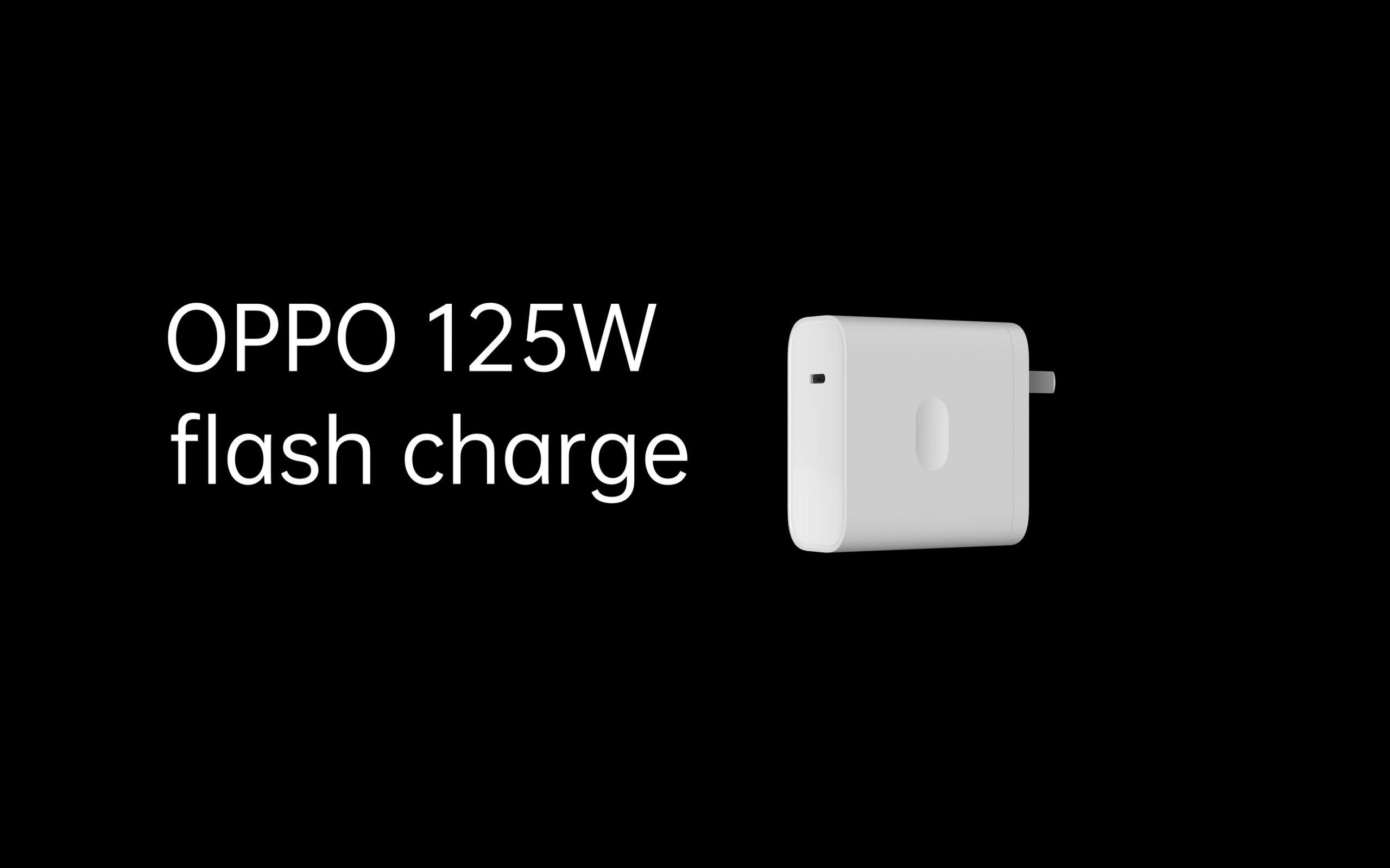 OPPO svela la ricarica rapida da 125 W e wireless da 65 W