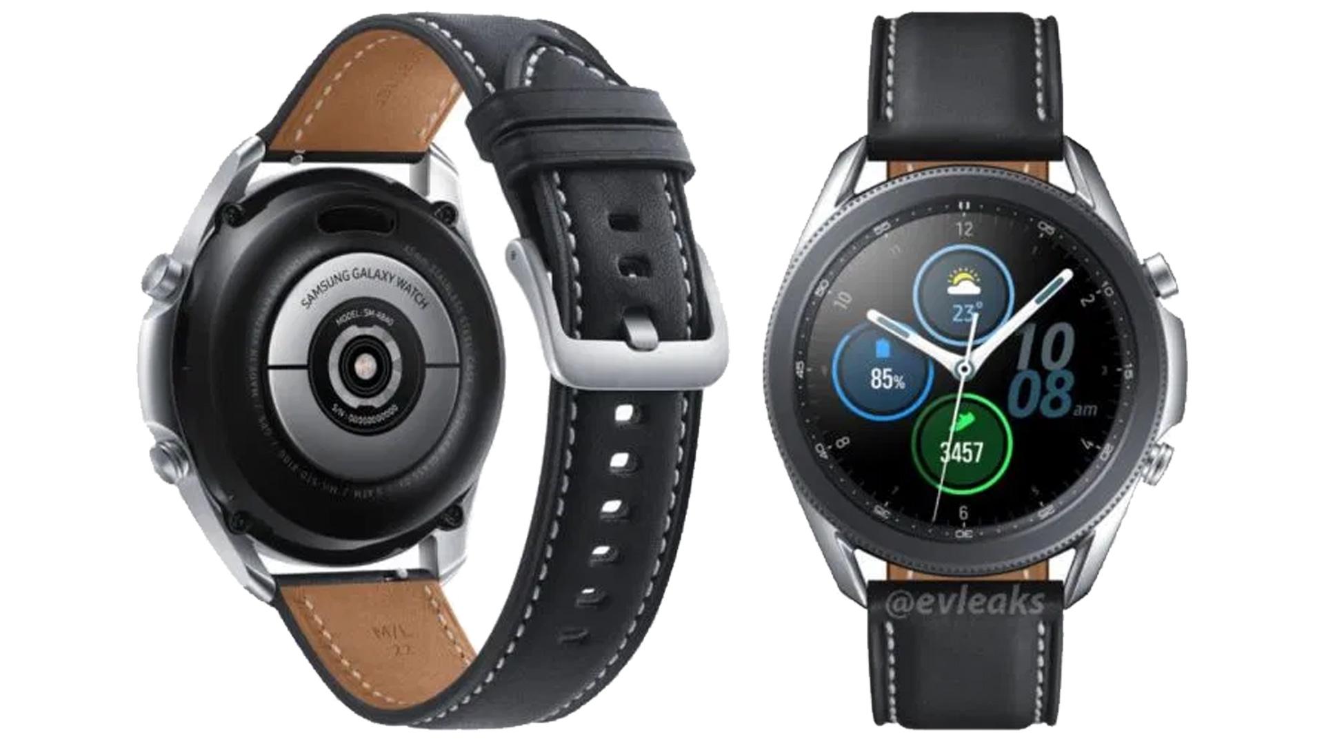 Samsung Galaxy Watch 3 senza segreti grazie al leak del firm