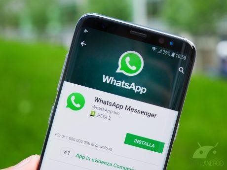 I backup di WhatsApp non verranno conteggiati nel limite di