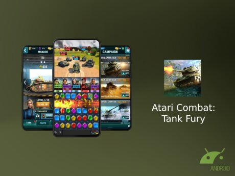 Atari Combat Tank Fury