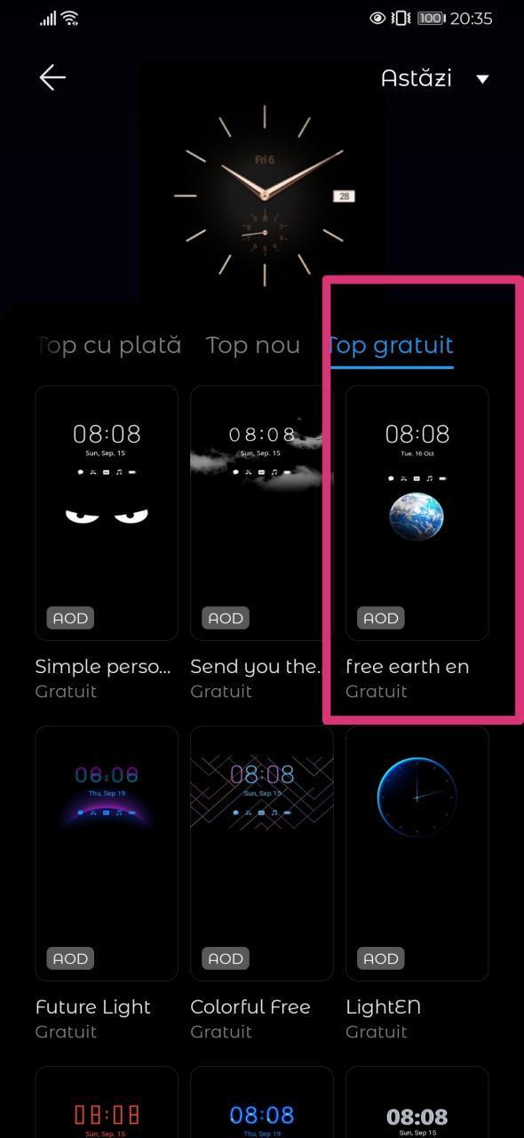 Huawei AOD