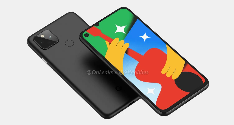 Google Pixel 5 e Pixel 4a 5G senza più segreti: specifiche complete e render leak