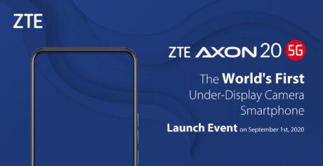 ZTE Axon 20 5G teaser