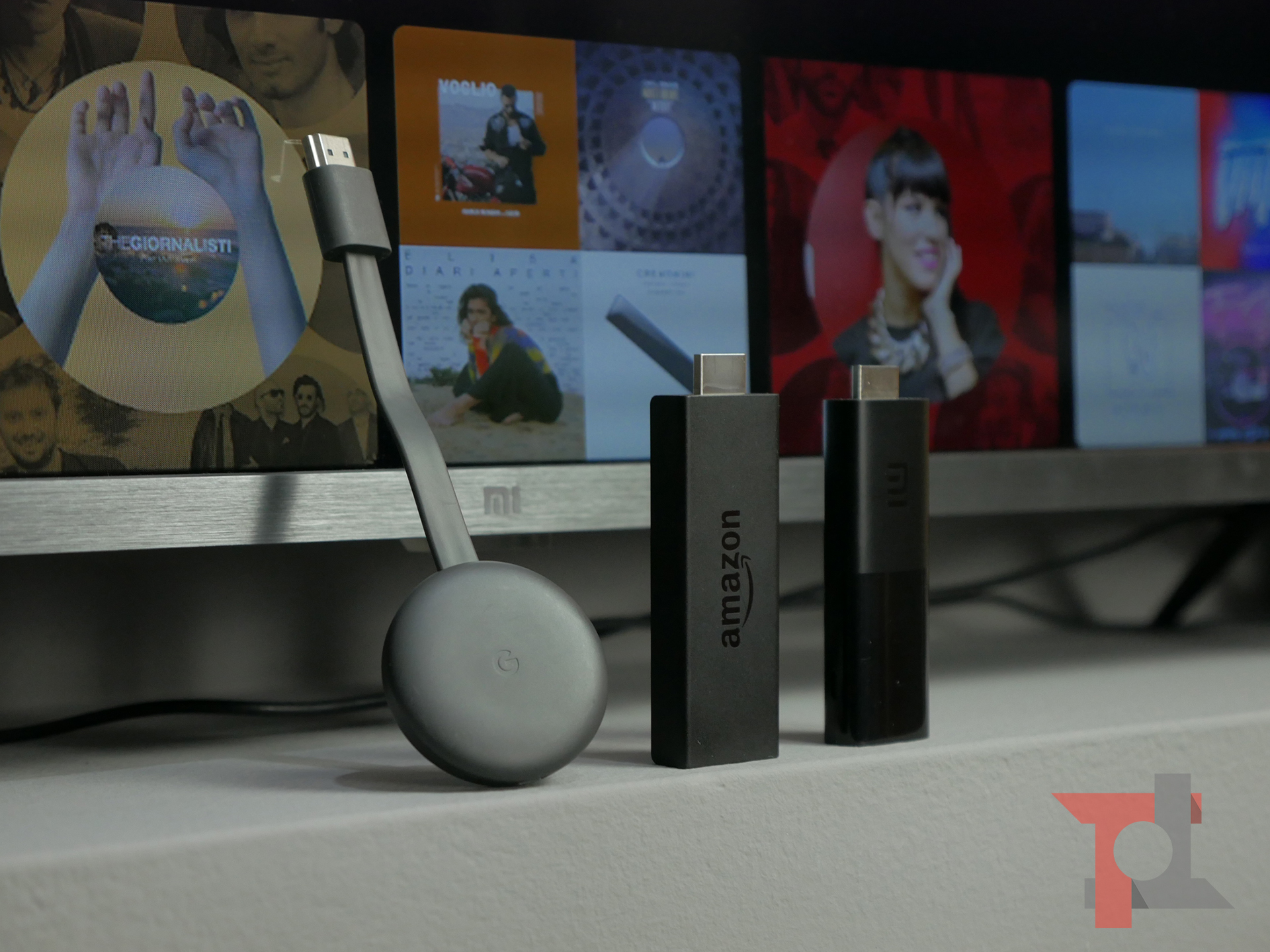 Rendere Smart la TV: Xiaomi Mi TV Stick vs Amazon Fire TV Stick vs Chromecast