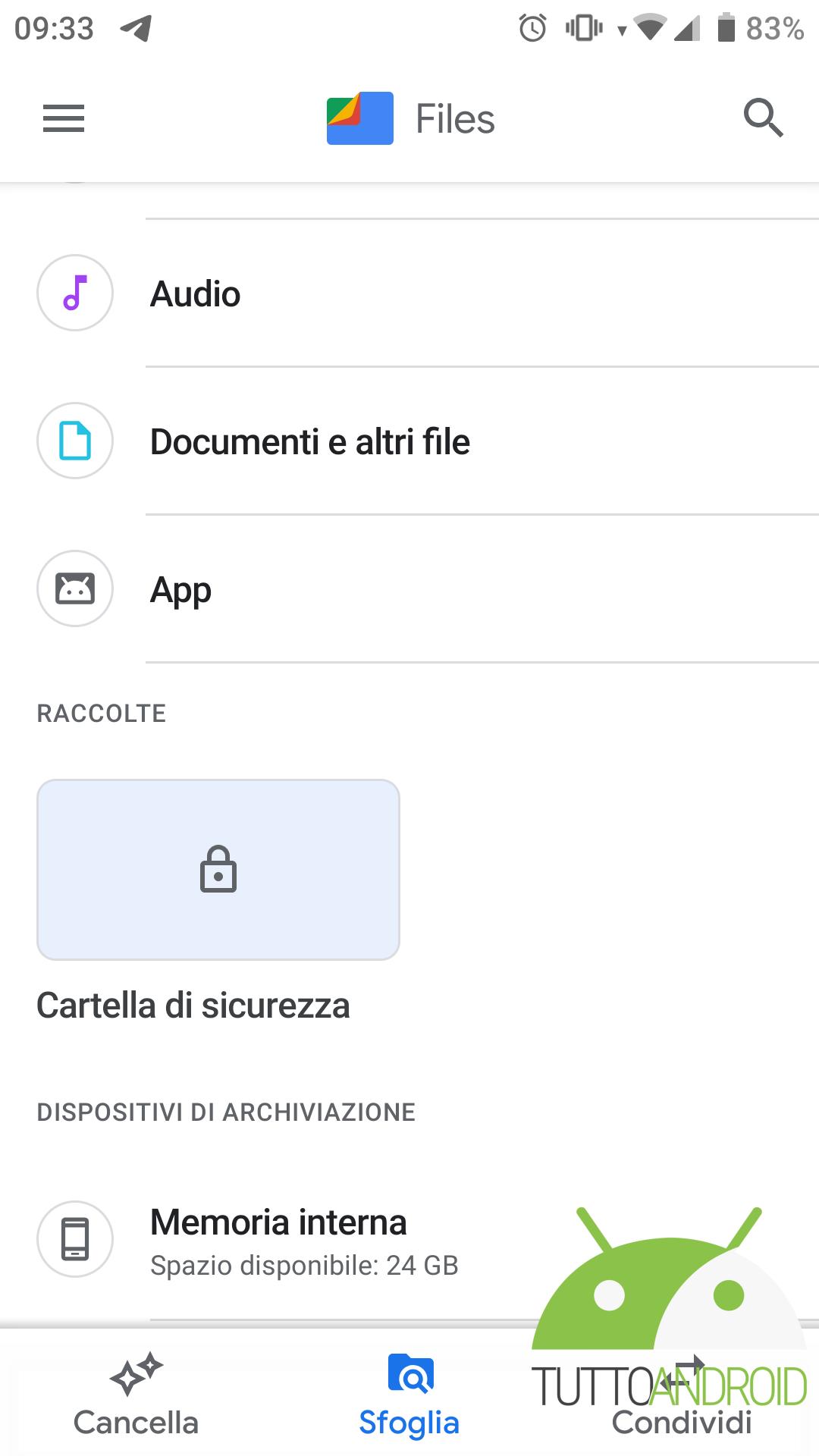 Files di Google
