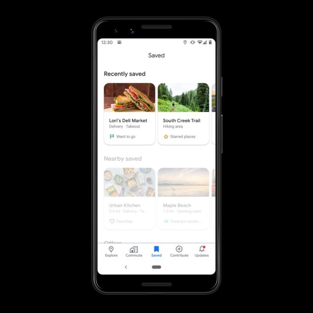 google drive maps foto scorciatoie luoghi salvati editor novità