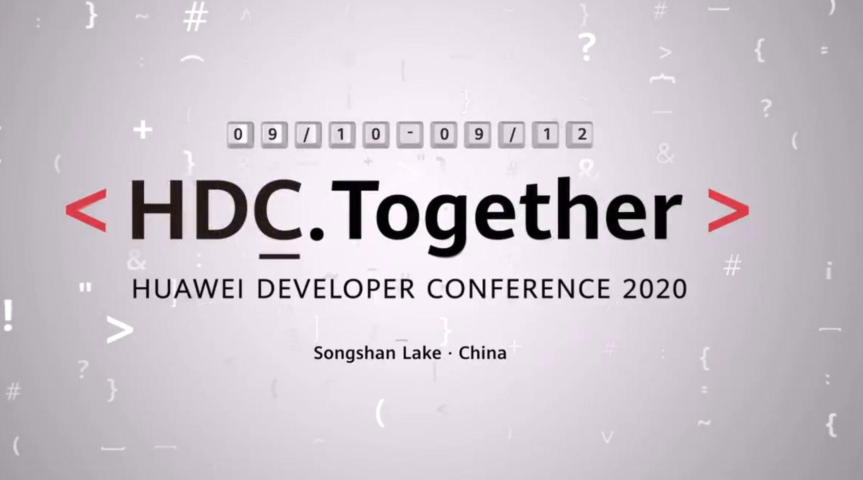 Huawei Developer Conference 2020 al via dal 10 al 12 settembre con tante novità