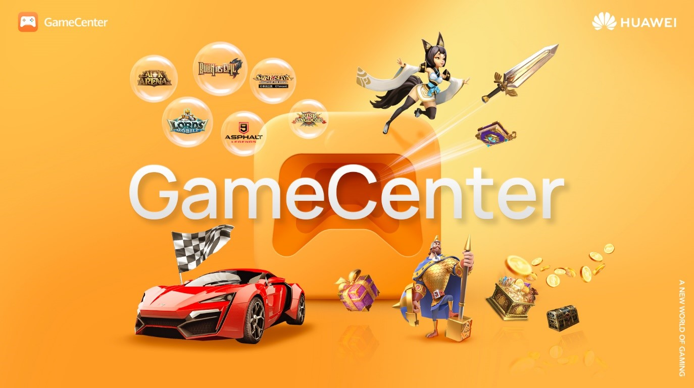 Giochi esclusivi e tanto altro su Huawei GameCenter, disponibile su AppGallery