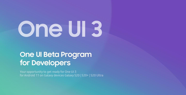 Samsung lancia il programma One UI 3.0 Beta con Android 11 per Galaxy S20