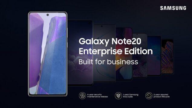 samsung galaxy note 20 5g tab s7 enterprise edition