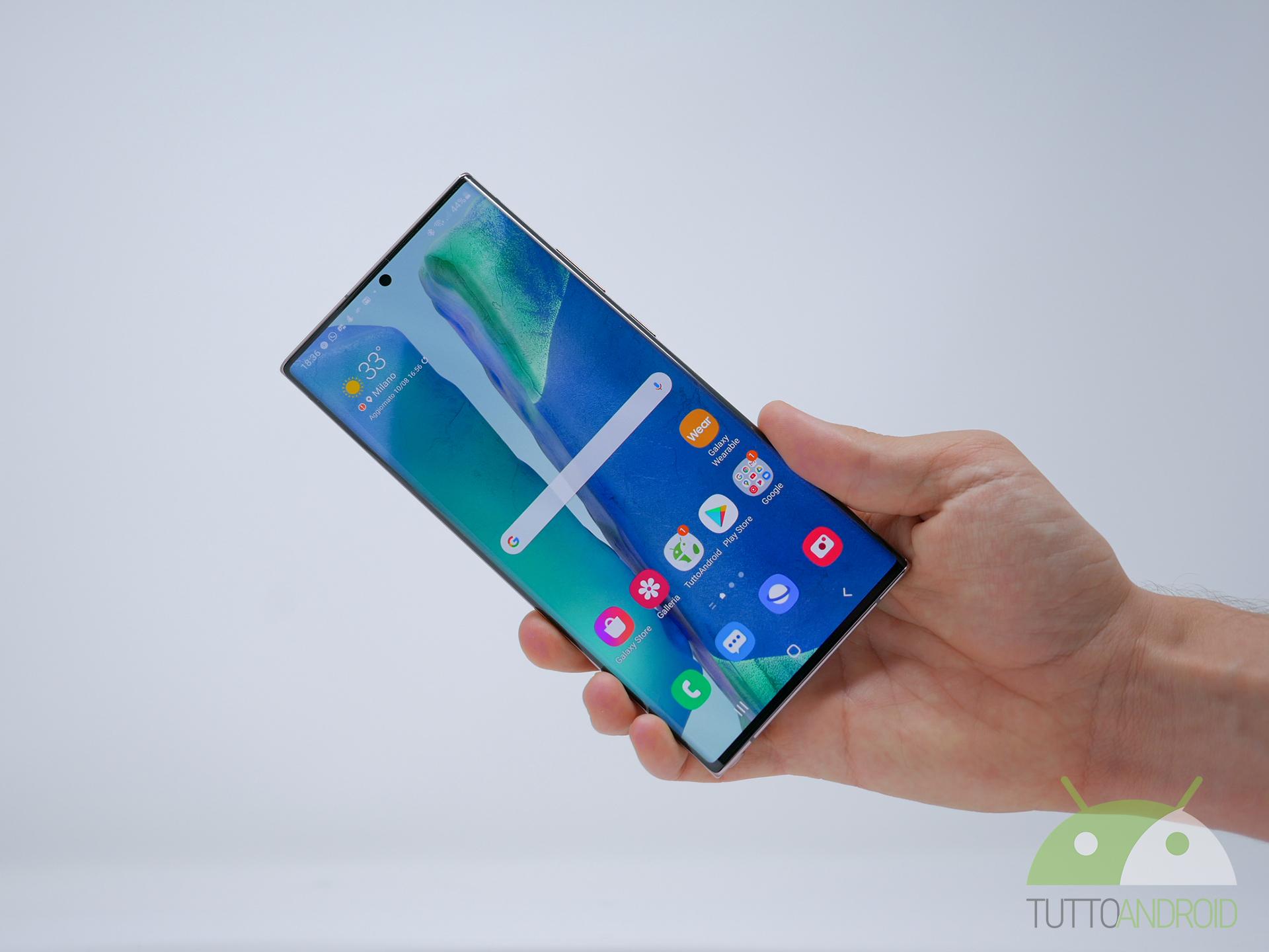 Parte il rollout della beta della One UI 3.0 per la serie Samsung Galaxy Note 20