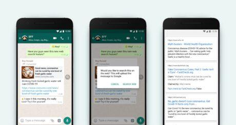 whatsapp cerca in rete notizie false novità