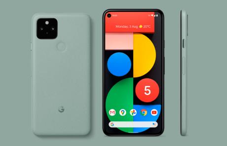 Google Pixel 5 verde