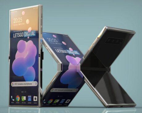 HTC brevetto smartphone pieghevole