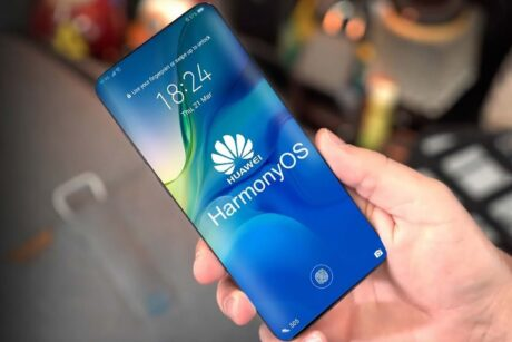 Harmony OS smartphone