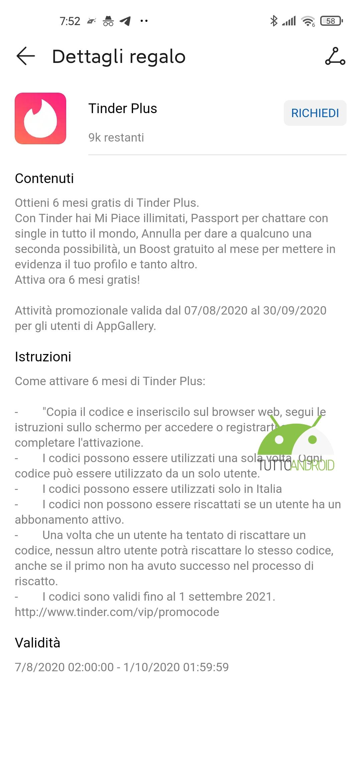 Huawei Tinder Plus