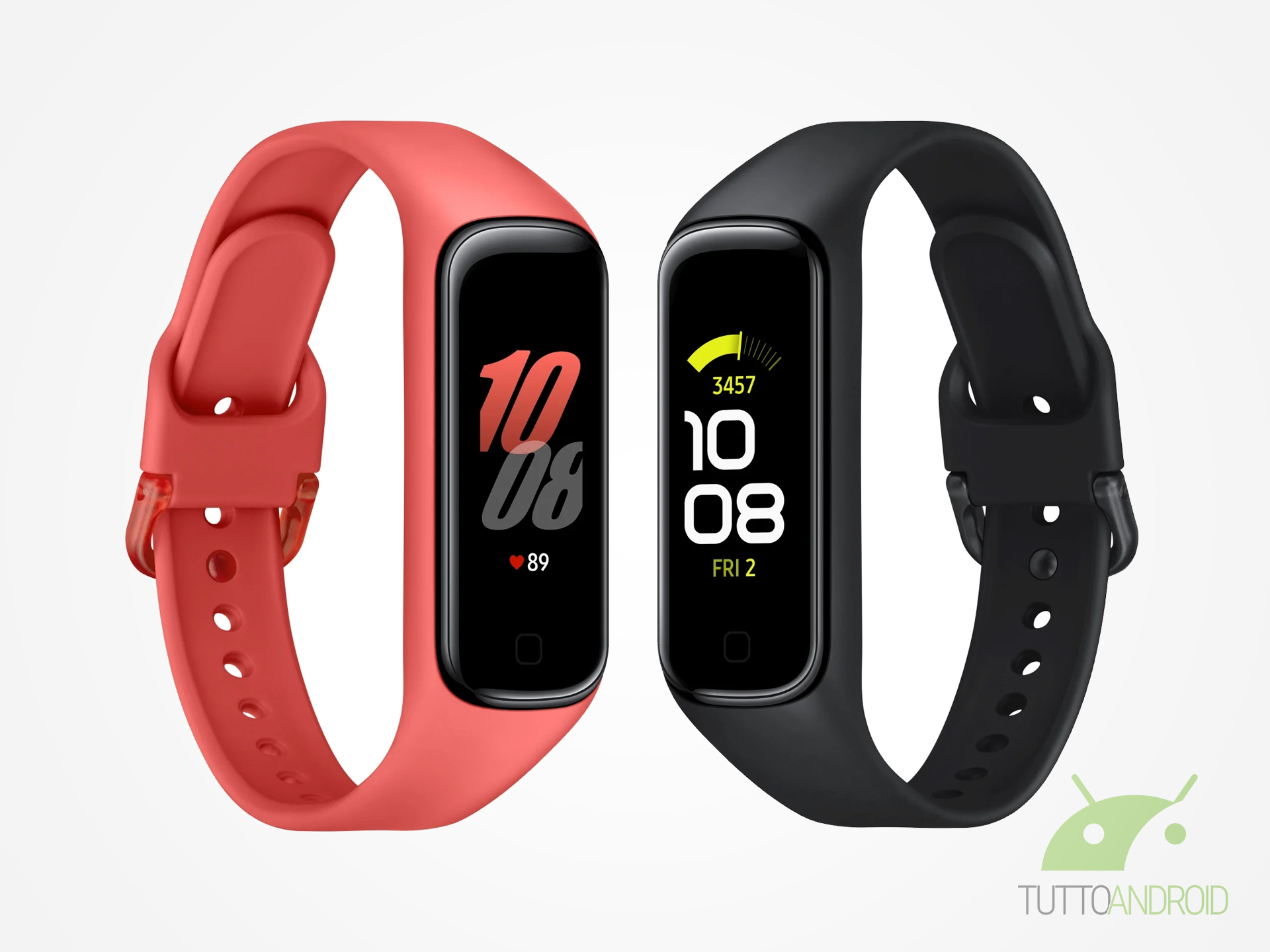 L'app Galaxy Wearable si aggiorna per supportare Galaxy Fit2