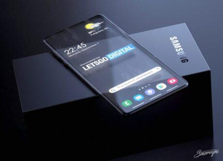 Samsung brevetto display trasparente