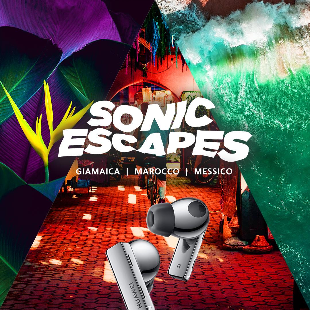 huawei sonic escape freebuds pro