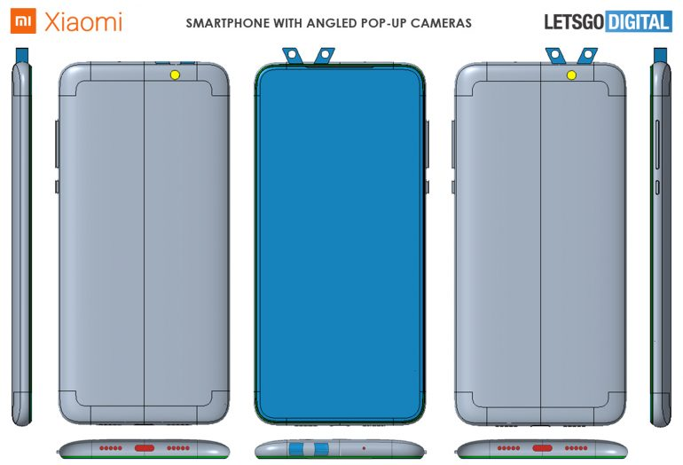 Xiaomi brevetto doppia fotocamera pop-up