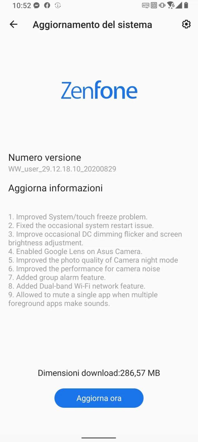 asus zenfone 7 pro prezzo italia