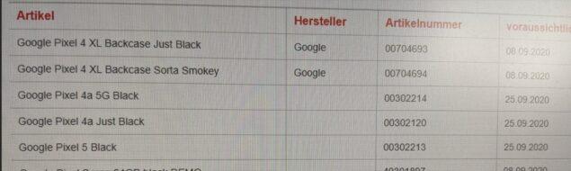 google pixel 4a 5g 5 data lancio