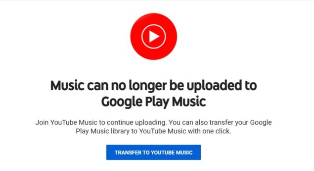google play music manager windows chiusura