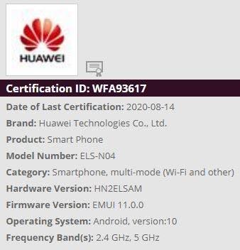 huawei p40 pro wifi 6