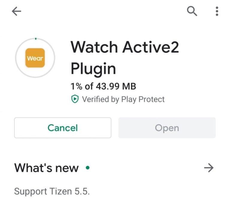 watch active 2 plugin tizen 5.5