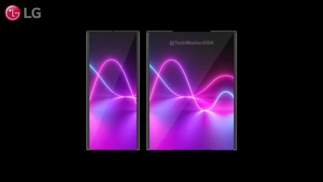 lg wing immagini esempio smartphone display espandibile 2021