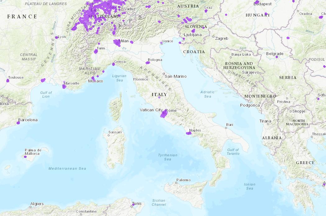 mappa copertura 5G Italia nPerf