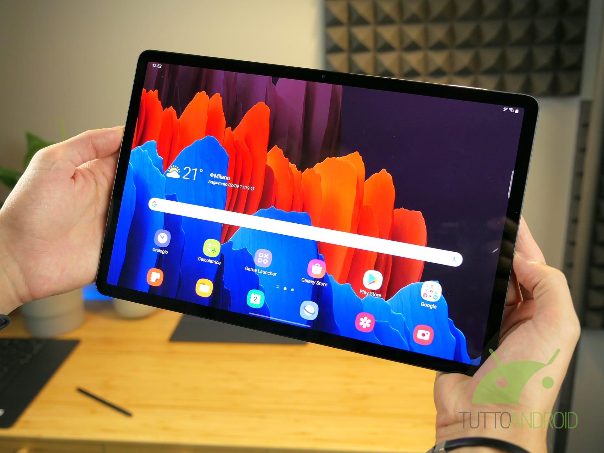Quante novità per Samsung Galaxy Tab S7 e Tab S7+ con One UI 3