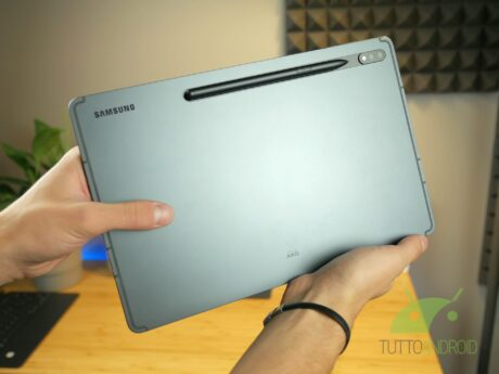 Recensione Samsung Galaxy Tab S7 Plus S Pen