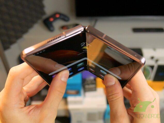 display foldable samsung
