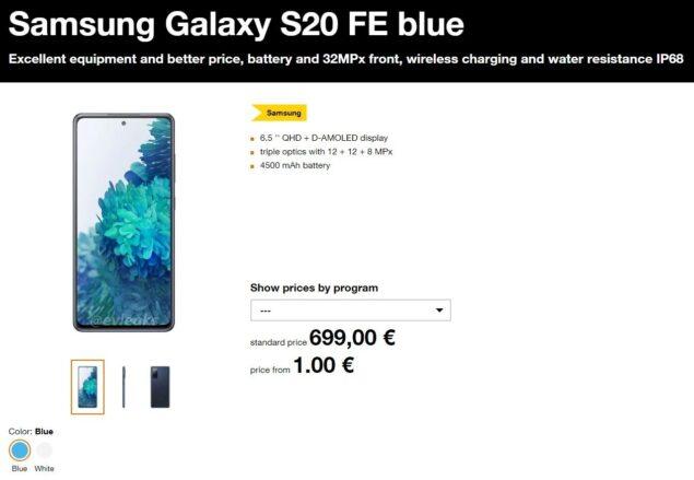samsung galaxy s20 fan edition prezzo wallpaper download