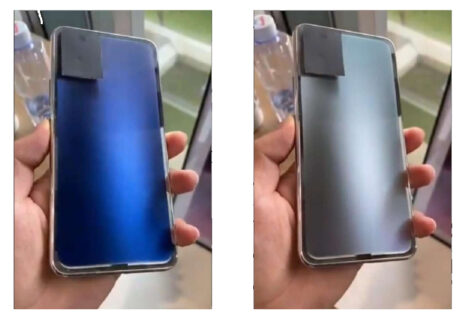 smartphone cover scolorimento colore