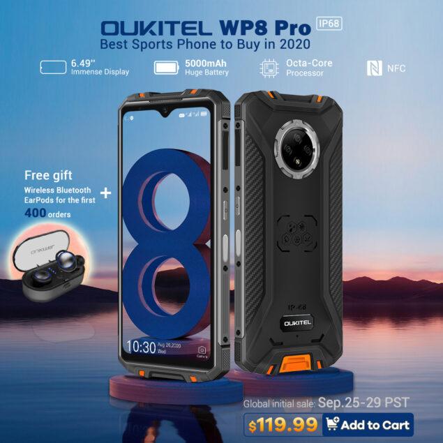 vendita oukitel wp8 pro