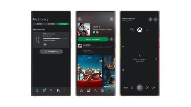 xbox app android beta streaming giochi