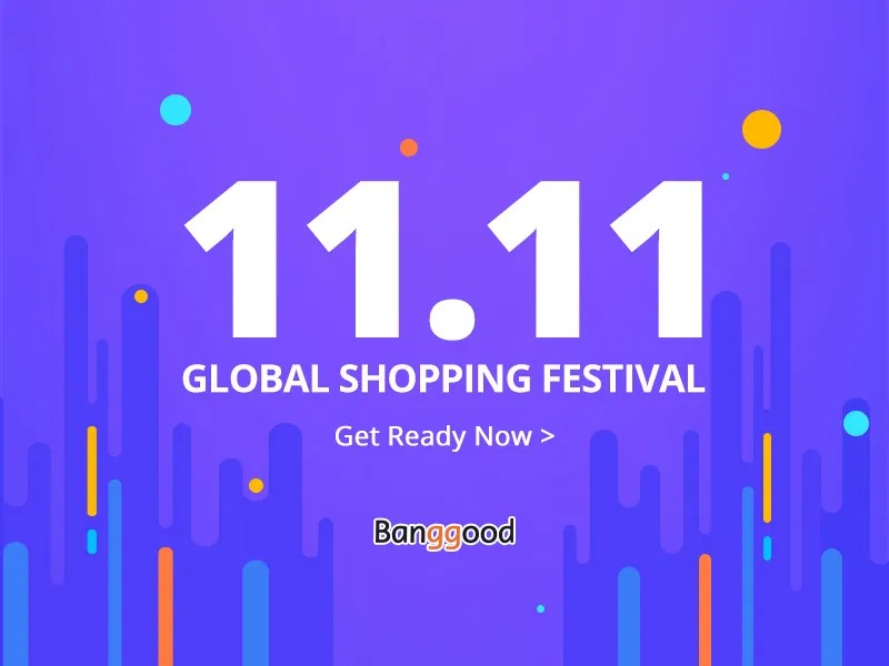 Preparatevi al festival dello shopping dell'11 novembre con Banggood