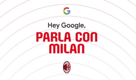 AC Milan su Google Assistant