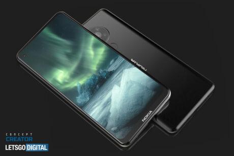 Nokia 7.3 5G render