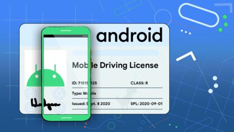 Patente di guida elettronica Android 11