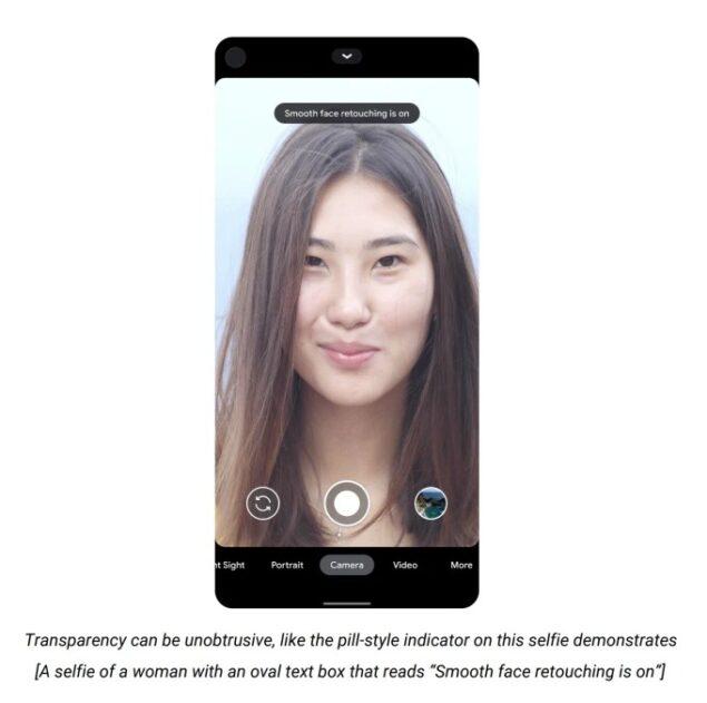 google filtro bellezza pixel novità