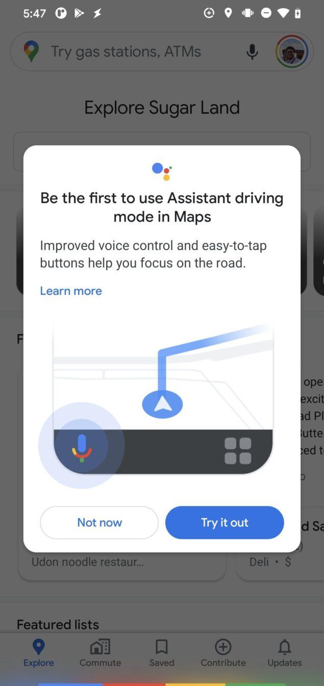 google maps 10.53.1 teardown google assistant novità