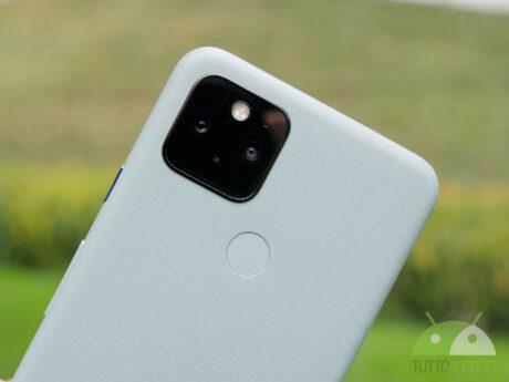 Google pixel 5 sensore impronte