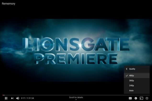 google play film youtube web riproduzione hd bug