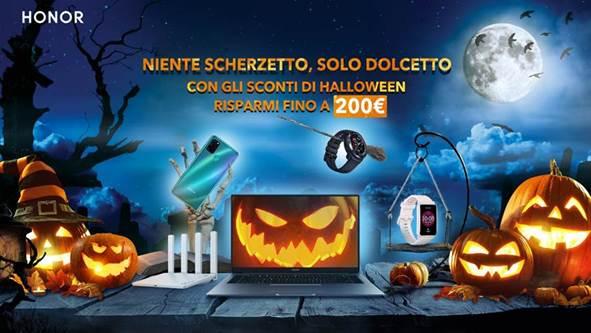 honor halloween 2020 niente scherzetto solo dolcetto offerte speciali