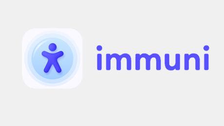 Immuni app schermate ui feat